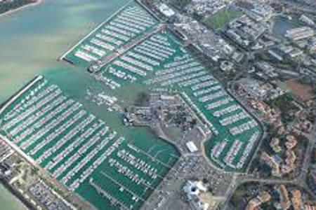 Le port des Minimes La Rochelle